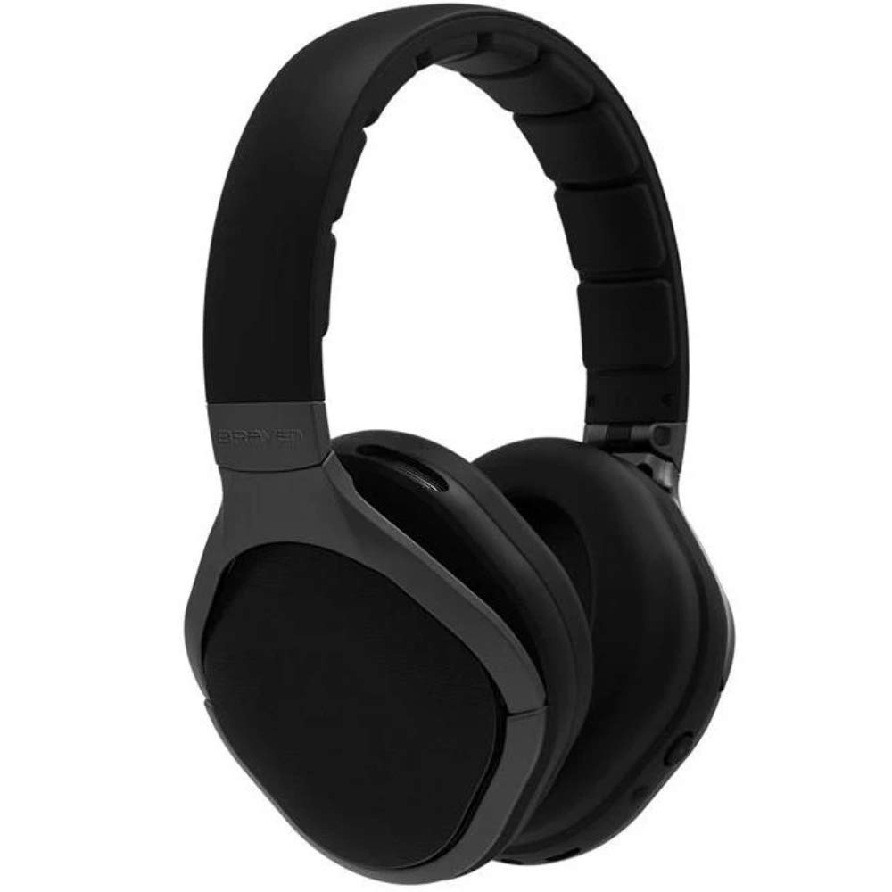 Braven Signature Wireless Bluetooth Over-Ear Headphones - Gray/Black