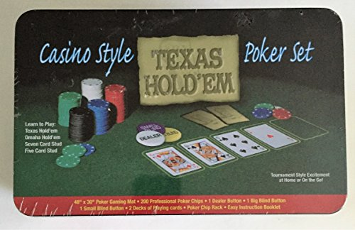 Casino Style Texas Hold'em Poker Set -
