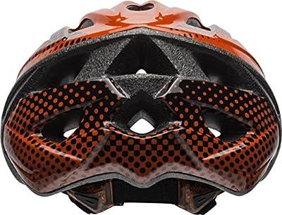 Bell Surge Adult Bike Helmet, Red/Black Halo
