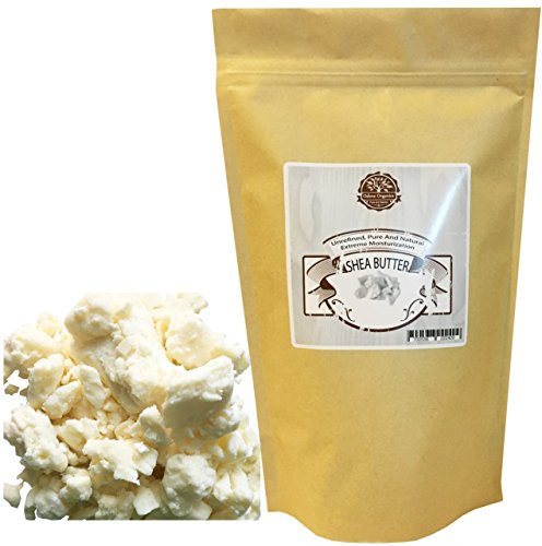 - Organic Unrefined Shea Butter 1 LB by Oslove Organics -Raw, African,100% Pure, Non-GMO, Hand packed, Fresh, Rich and Creamy