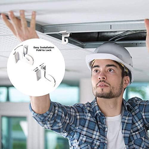 OOCOME Grille anti-éternuements en PVC à suspendre, écran enroulable avec tige en aluminium, installation facile 200 cm x 80 cm
