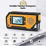 Emergency Solar Hand Crank Radio- Aiworth