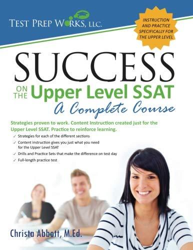 Upper Level - Success on the Upper Level SSAT