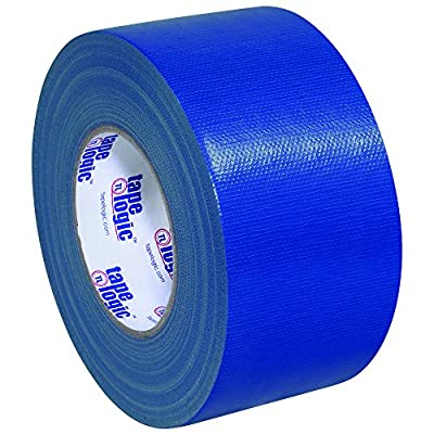 "Partners Brand PT988100BLU3P Tape Logic Duct Tape, 10 mil, 3"" x 60 yd, Blue (Pack of 3) from Partners Brand"