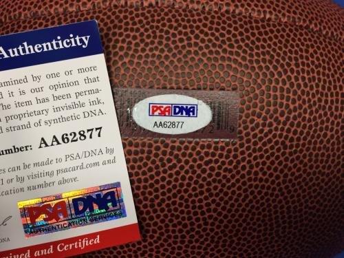 Eric Berry Autographed Ball White Logo Coa Autographed Footballs