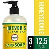 Beauty : Mrs. Meyer´s Clean Day Hand Soap, Honeysuckle, 12.5 fl oz, 3 ct