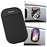 INSTEN Car Grip Pad Non Slip Sticky Anti Slide Dash Cell Phone Mount Holder Mat For Huawei Google Nexus 6P; LG Google Nexus 5X; Apple iPhone X/8 Plus/7 Plus/6S Plus/Galaxy S9/S9+/S8/S8+/S7 Edge/S7