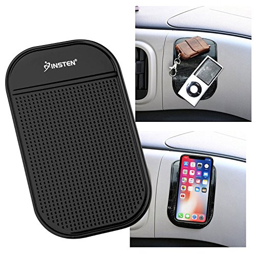 - INSTEN Anti-Slip Car Dash Sticky Gel Pad Non-Slip Universal Mount Holder Mat 5.7