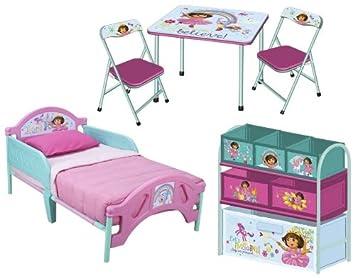 Amazon.com: Nickelodeon Dora 3pc habitación – Juego de cama ...