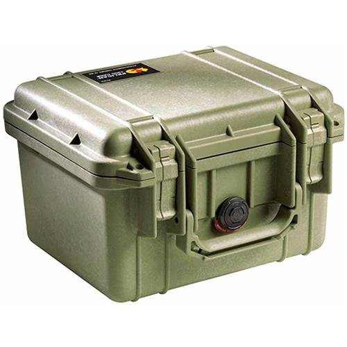 Pelican 1300 Case With Foam (OD Green)