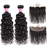Best Hair Bundles With Laces - Brazilian Water Wave Bundles with Frontal 100% Virgin Review