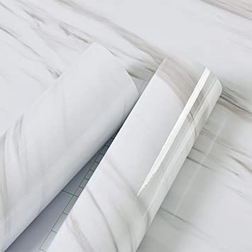 Marble Contact Paper Decorative Self Adhesive Peel And Stick Craft