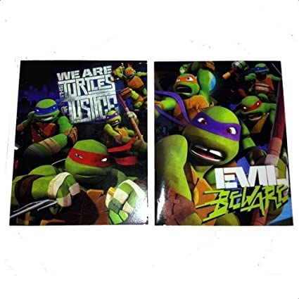 Amazon.com: Teenage Mutant Ninja Turtles (2) Folders Set, We ...