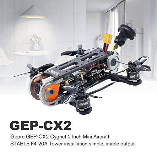 Wikiwand Geprc GEP-CX2 Cygnet 2 Inch RunCam 1080P HD 6000kv Motor RC Mini Aircraft PNP by Wikiwand (Image #2)