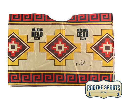 Norman Reedus Autographed/Signed Officially Licensed The Walking Dead Poncho ()
