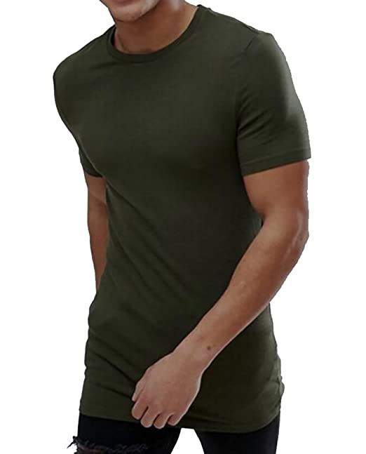 27eaf133c0999 Amazon.com: Nanquan-men clothes NQ Mens T-Shirt Crewneck Muscle Fit ...