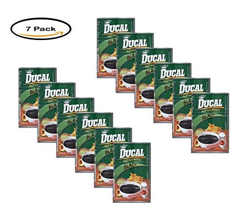 PACK OF 12 - Ducal Black Refried Beans, 15 oz by Goya Food