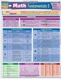 ??WORK?? Math Fundamentals 3 (Quickstudy: Academic). Stuck prosze nosotros cuenta formato Online