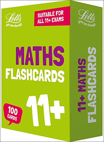Letts 11+ Success - 11+ Maths Flashcards (Best 11 Plus Practice Papers)