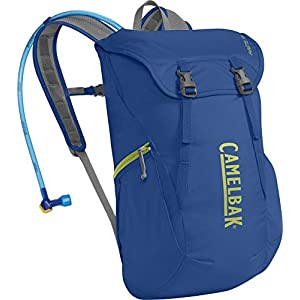 CamelBak 2016 Arete 18 Hydration Pack, Olympian Blue/Green Oasis