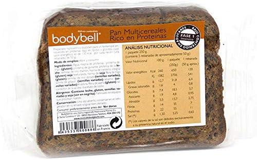 Bodybell Pan Multicereales 250 g: Amazon.es: Salud y cuidado ...