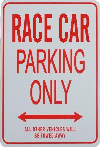 RACE CAR Parking Only - Miniature Fun Parking ()