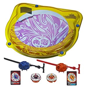 Beyblade Samurai Cyclone Battle Set - 51WLbeQJwIL - Beyblade Samurai Cyclone Battle Set(Discontinued by manufacturer)