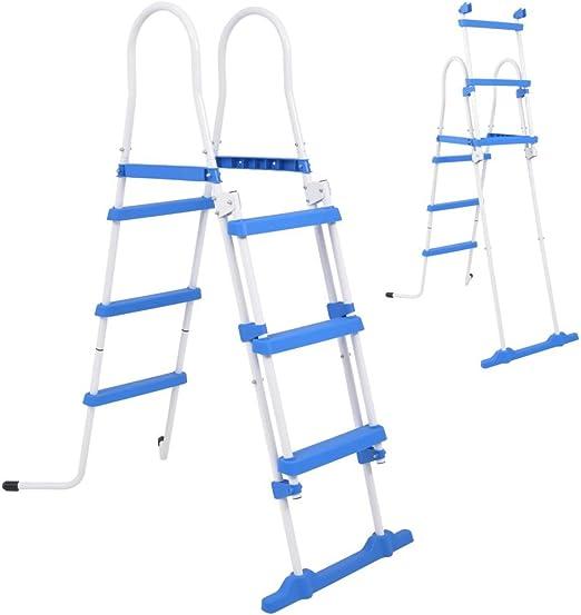 Festnight Escalera de Seguridad para Piscina con 3 pelda?os ...