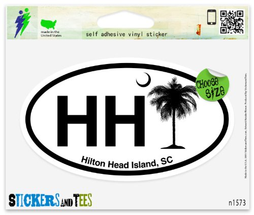 hh-hilton-head-island-sc-south-carolina-oval-vinyl-car-bumper-window-sticker-3-x-2