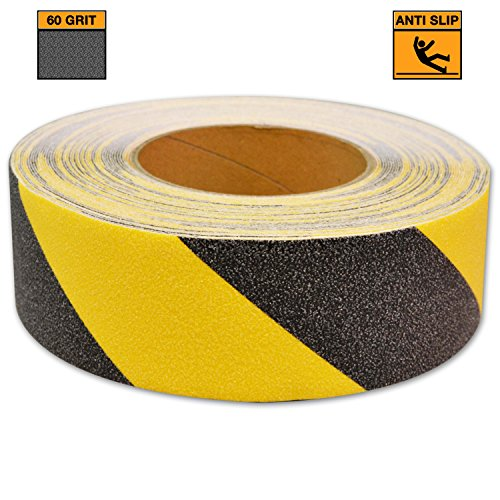 """KwikSafety Black & Yellow Anti-Slip Safety Tape 