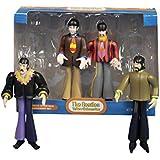 Kurt Adler Beatles 4-Piece Ornament Set, 5-Inch