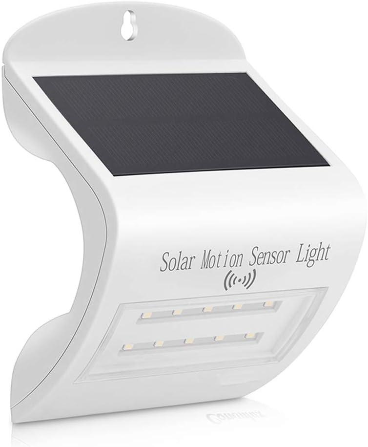 LAMINA Solar Outdoor Motion Sensor Light, Radar Sensing, 3 Working Modes, LED Waterproof Wall Night Light, Easy to Install Courtyard, Gate, Balcony, Garage, Garden, Deck, Etc.