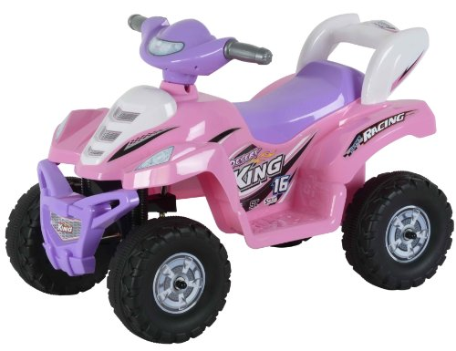Best Ride On Cars Little  ATV 2-5 years 6V, Pink by Best Ride On Cars