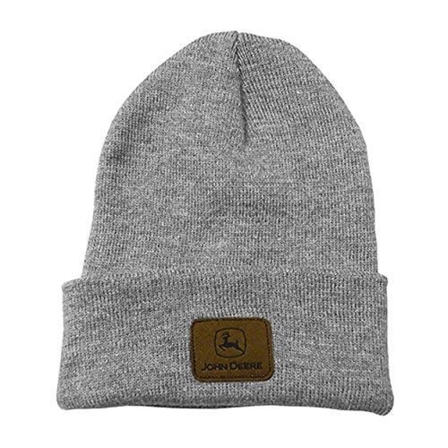 John Deere Beanie Hat (OFA, Charcoal)