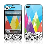 GelaSkins 844665002241 Protective Skin for iPhone 4/4S - Retail Packaging - Mountain View