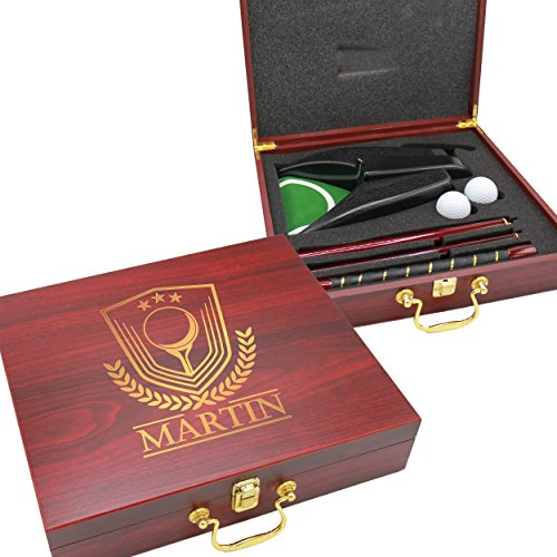 Custom Personalized Golf Set - Engraved Executive, Business, Groomsmen, Golfer, Dad Gifts