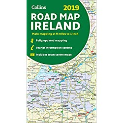 2019 Collins Road Map Ireland