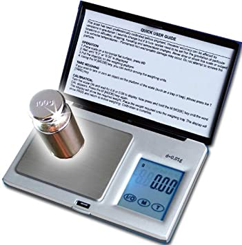 100 g x0.01g Mini bijoux Gram Carat balance de poche de pesage électroniques Solde 445
