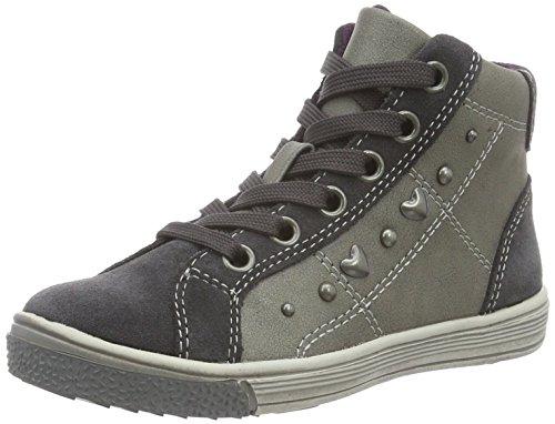 Indigo Sneaker, Zapatillas Niñas Gris (250 DK.GREY VL)