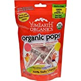 YummyEarth Organic Lollipops, Assorted Flavors (15 Count), 3-Ounce Pouches (Pack of 6) ( Value Bulk Multi-pack)