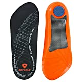 Sof Sole Men's Plantar Fasciitis Lifestyle Insole