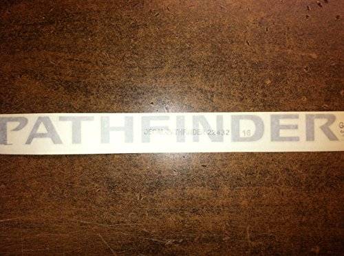 NEW OEM 2005-2008 PATHFINDER SILVER/GREY ROOF RACK DECAL / EMBLEM