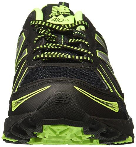 New Balance Men's MT410v5 Cushioning Trail Running Shoe, Black, 8 D US by New Balance (Image #4)
