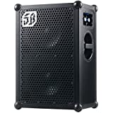 The SOUNDBOKS 2 - The Loudest Portable, Battery Powered, Bluetooth Speaker (122dB, supreme sound, military grade batteries, 40 hours battery life on avg. volume, extremely durable) - Black