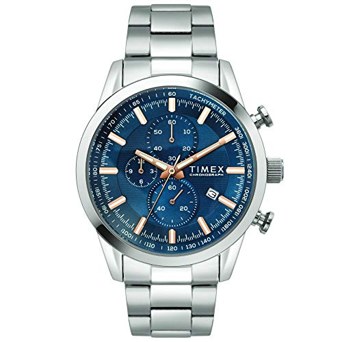 Timex Analog Blue Dial Men #39;s Watch TWEG17604