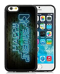 2014 New Style iPhone 6 Case,Merry Christmas Black iPhone 6 4.7 Inch TPU Case 78