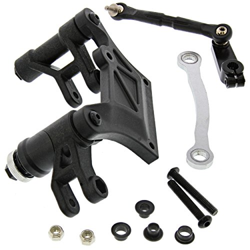 Losi Desert Buggy XL-E 4WD 1/5: Bellcrank, Plate, Steering Post Servo Saver, Arm (Steering Post Arm)