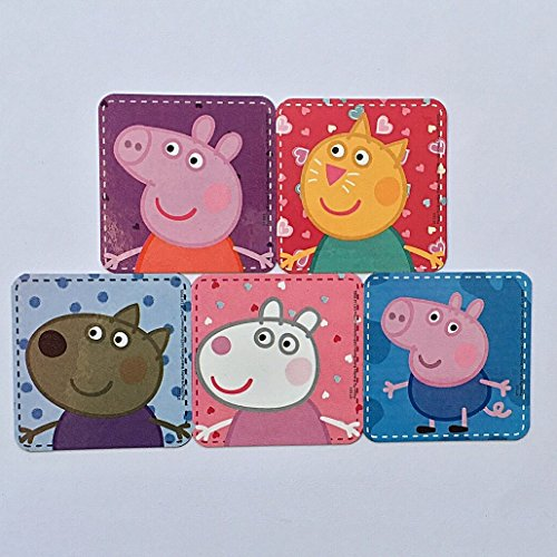 - Peppa Pig Refrigerator Magnets, 5 Nickelodeon Nick Jr George Candy Danny Suzy