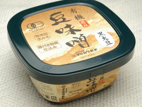 無肥料 自然栽培 黒大豆 豆味噌