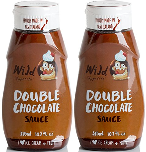 Wild Appetite, Double Chocolate Sauce 2 pack, 2 x 315ml (10.6oz) by Wild Appetite